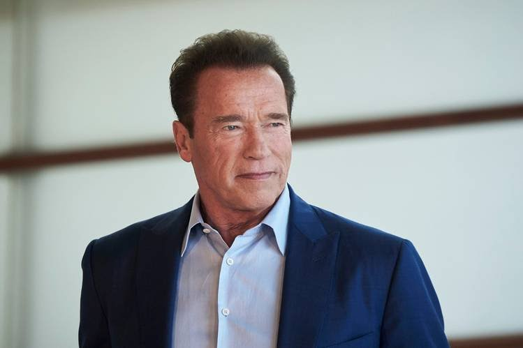 Arnold Schwarzenegger says having a vision has been key to his success.